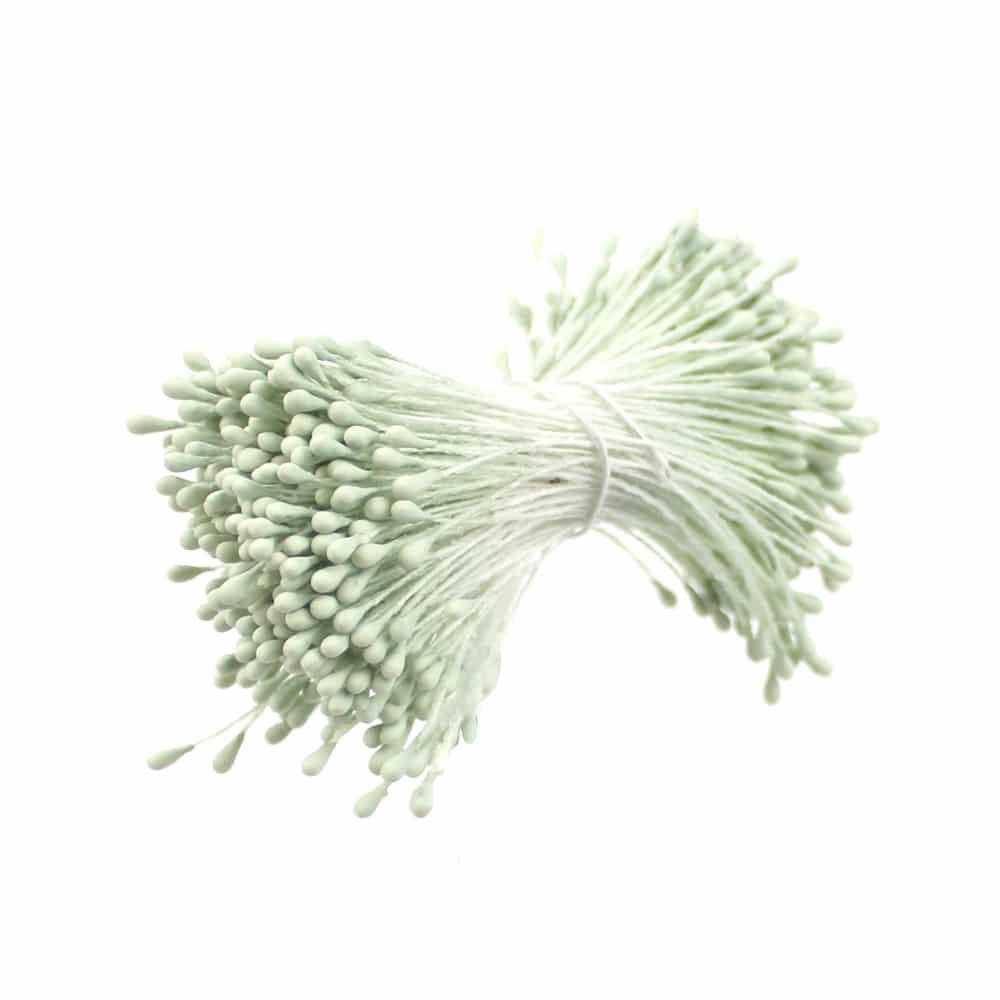 pistilos doble mate verde claro