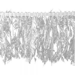 fleco simil plumas 20 cm crudo