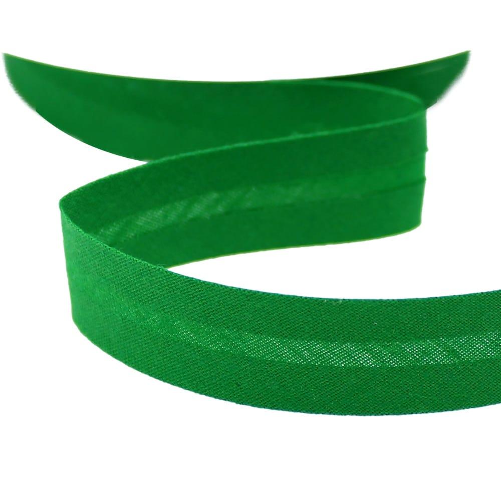 cinta bies de algodon 18 mm verde andalucia