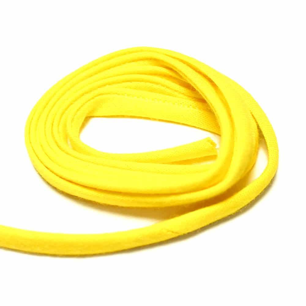 espagueti algodon 7 mm amarillo