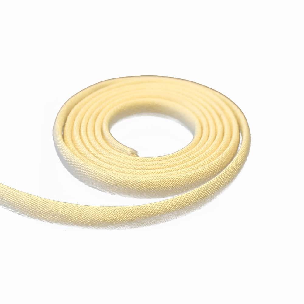 espagueti algodon 7 mm beige
