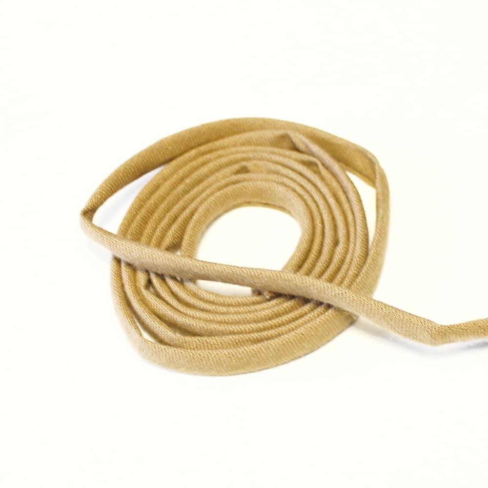 espagueti algodon 7 mm marron claro