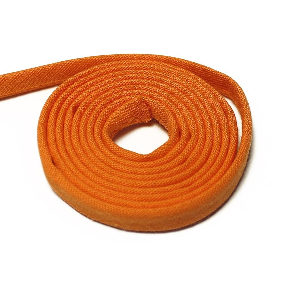 espagueti algodon 7 mm naranja