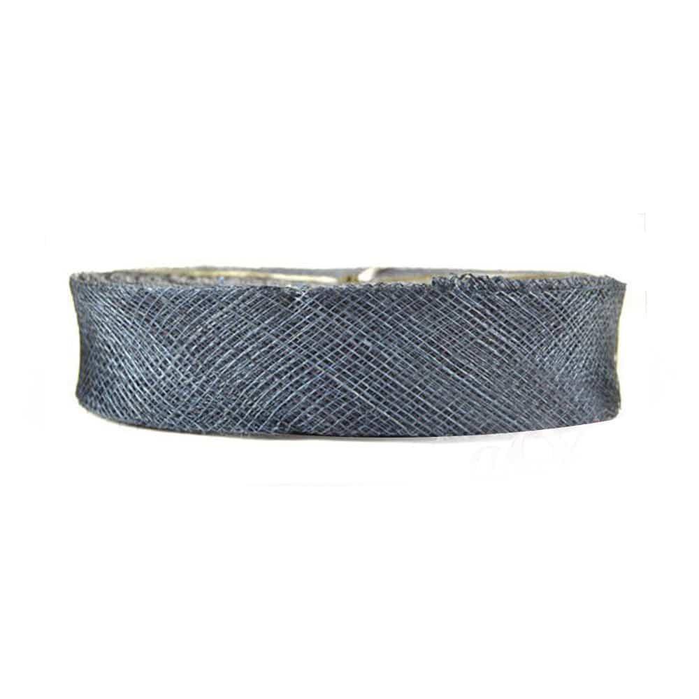 cinta sinamay 2 cm azul marino