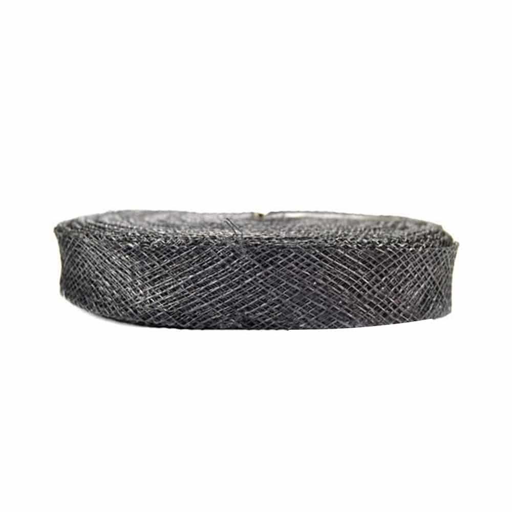 cinta sinamay 2 cm negro