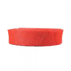 cinta sinamay 2 cm rojo